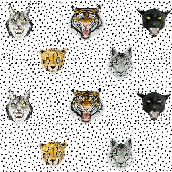 WILD HEARTS WONDER - Wallpaper - Wildcats - White