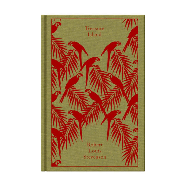 BOOK - TREASURE ISLAND (CLOTHBOUND CLASSIC) by Robert Louis Stevenson