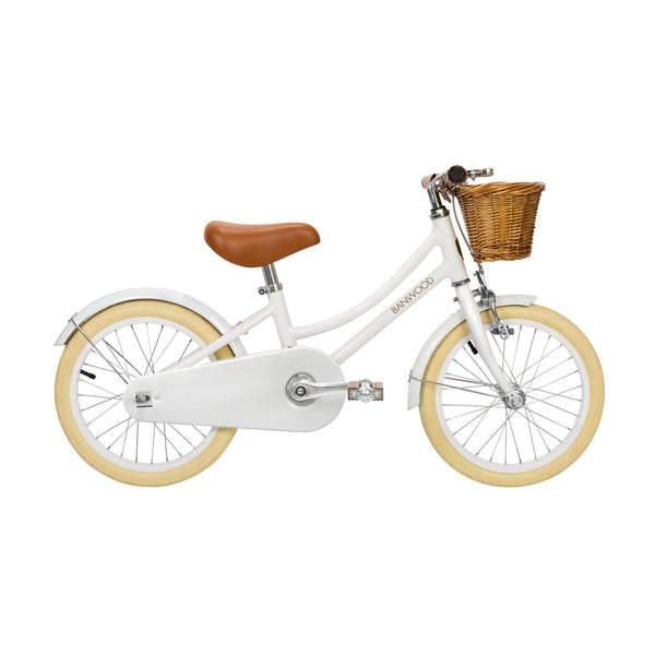 BANWOOD - Classic Pedal Bike - White