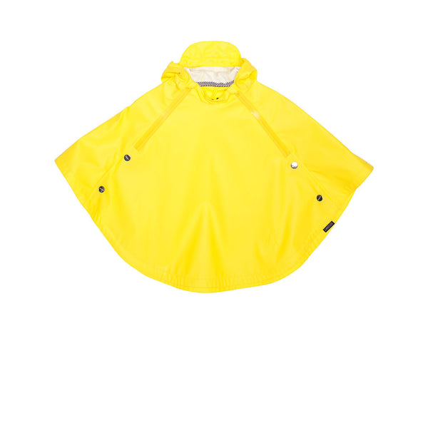 GOSOAKY CROUCHING TIGER Unisex Waterproof Cape Vibrant Yellow