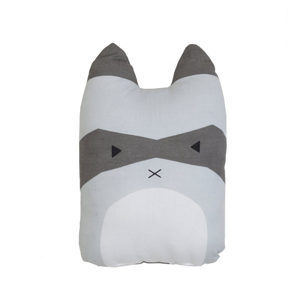 FABELAB - Animal Cushion - Rascal Racoon