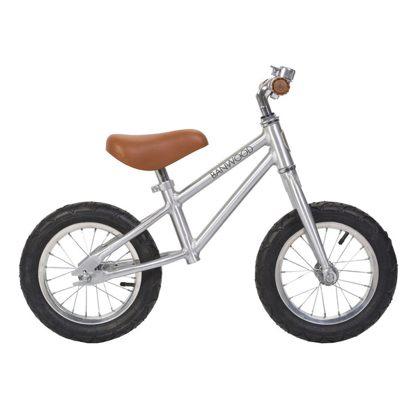BANWOOD - First Go! Balance Bike - Chrome