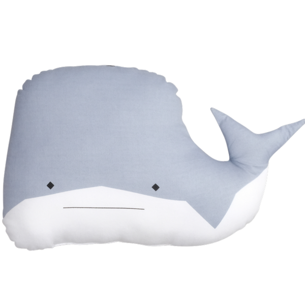 FABELAB - Animal Cushion - Whale