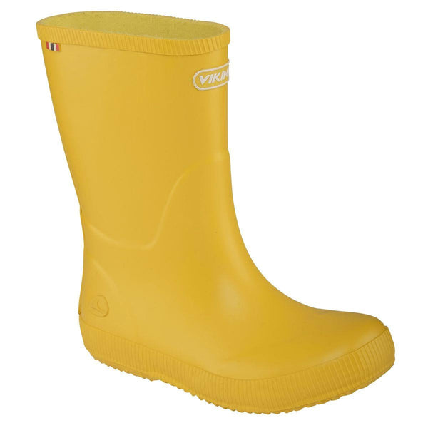 VIKING Classic Indie Rubber Wellington Boots in Yellow