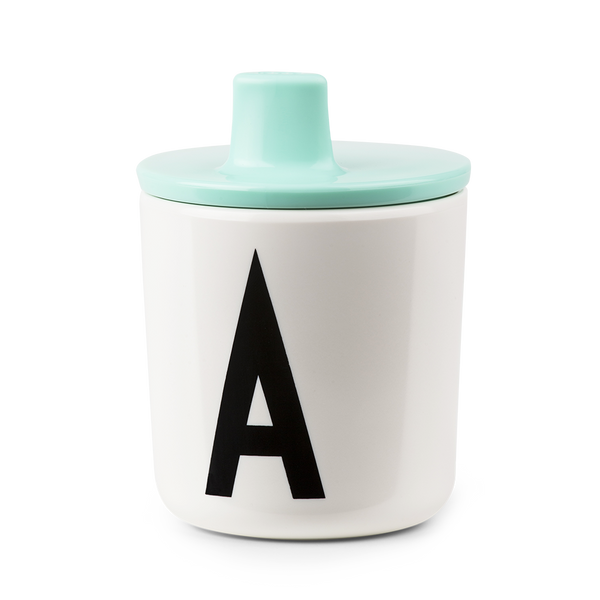 DESIGN LETTERS Drink Lid for Melamine Cups A-Z
