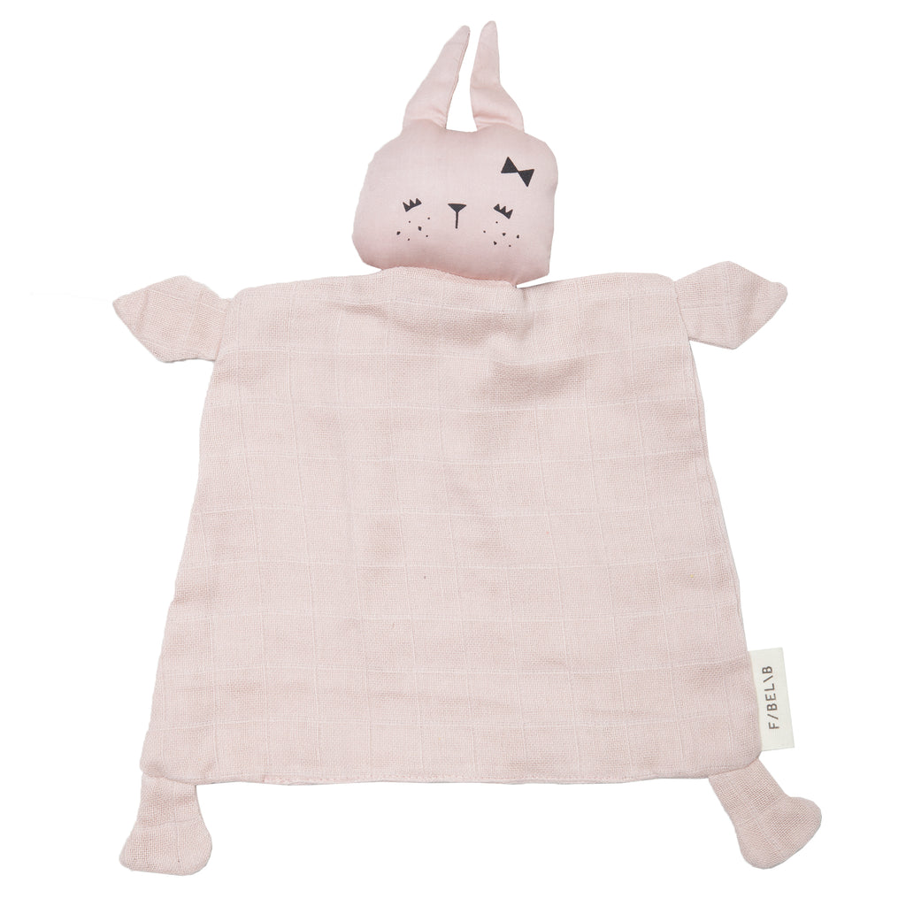 FABELAB - Animal Cuddle Comforter - Cute Bunny
