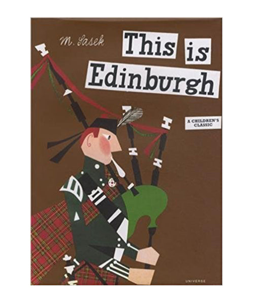 BOOK - THIS IS EDINBURGH by Miroslav Sasek