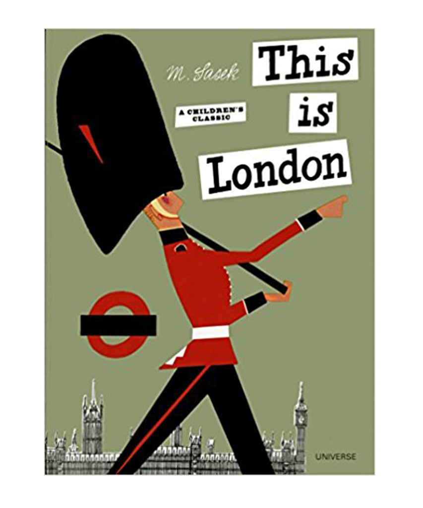 BOOK - THIS IS LONDON by Miroslav Sasek