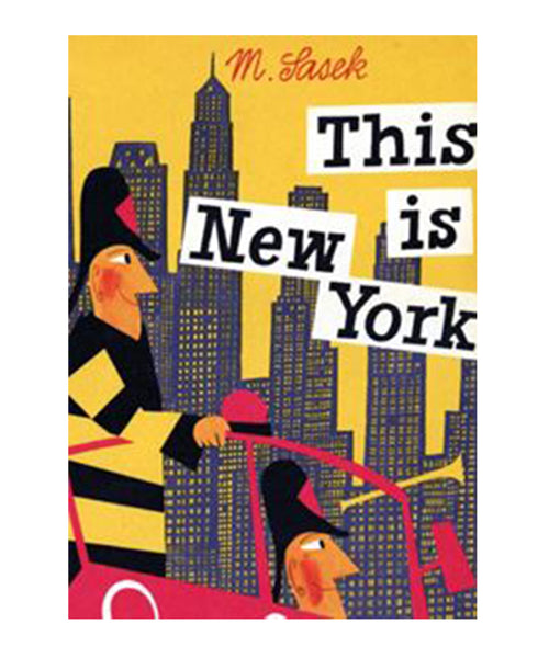BOOK - THIS IS NEW YORK by Miroslav Sasek