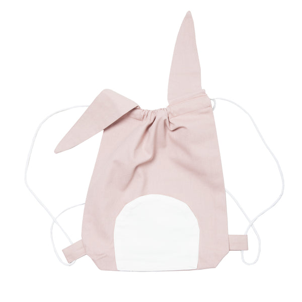 FABELAB - Drawstring Backpack - Cute Bunny