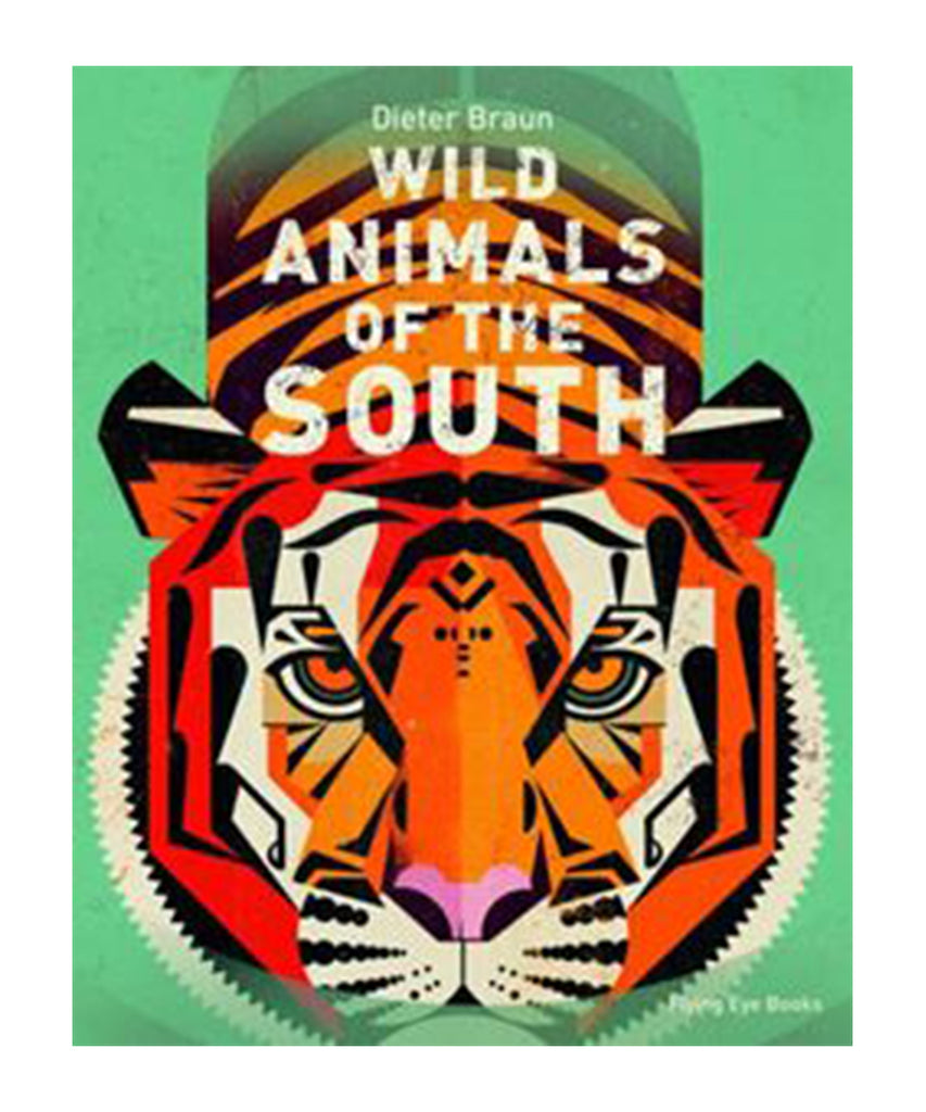 BOOK - WILD ANIMALS OF THE SOUTH by Braun Dieter