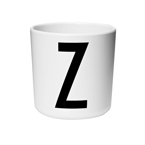 DESIGN LETTERS Melamine Cup A-Z