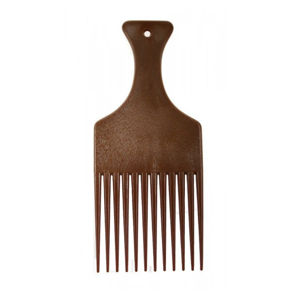 Denman Imitation Wood Afro Comb - total hair and beauty