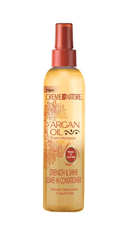 Creme of Nature Argan Oil Strength & Shine Leave-in Conditioner - total hair and beauty
