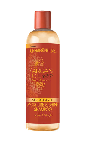 Creme of Nature Argan Oil Sulfate-Free Moisture & Shine Shampoo - total hair and beauty