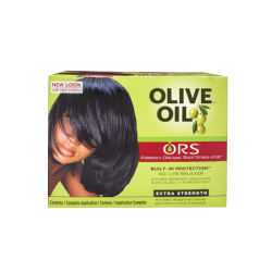 ORS Olive Oil Built-In Protection™ No-Lye Hair Relaxer - total hair and beauty