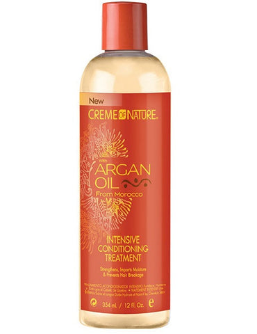 Creme of Nature Argan Oil Intensive Conditioning Treatment 12oz - total hair and beauty