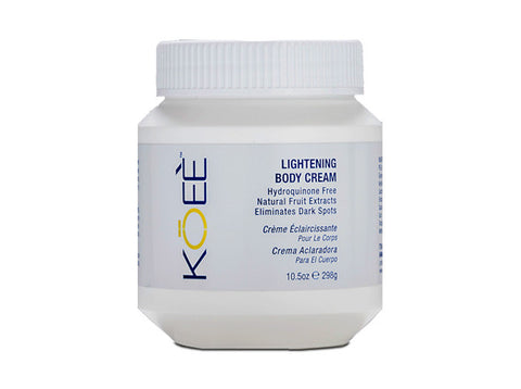 Koee Lightening Body Cream - total hair and beauty