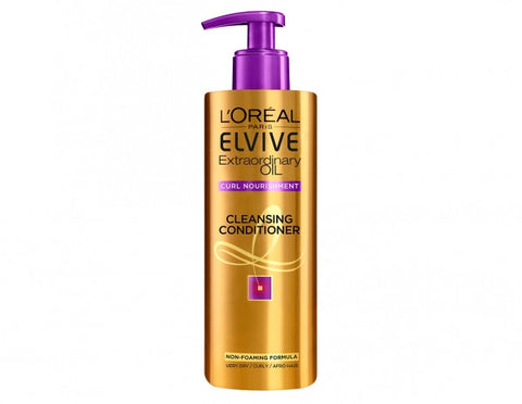 Loreal Elvive Extraordinary Oil Curl Nourishment Cleansing Conditioner - total hair and beauty