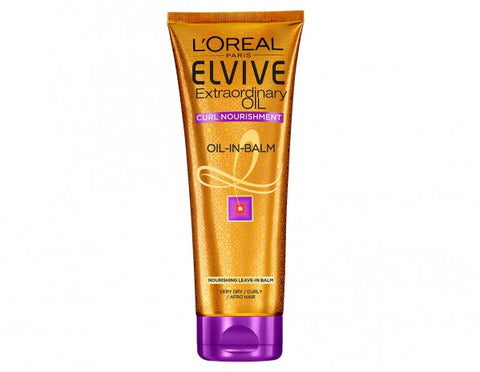 Loreal Elvive Extraordinary Oil Curl Nourishment Oil-in-balm - total hair and beauty