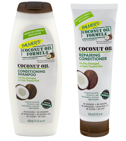Palmers Coconut Oil Formula Coconut Oil Conditioning Shampoo and Repairing Conditioner - total hair and beauty