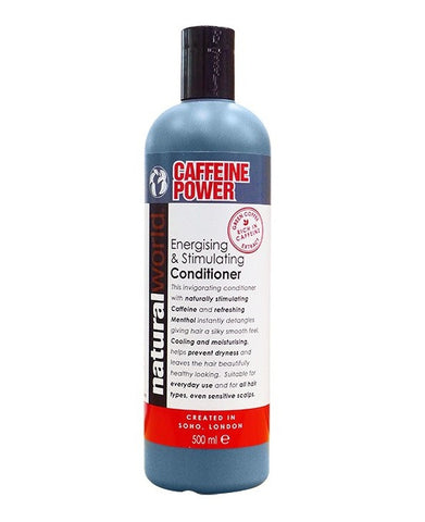 Natural World Caffeine Power Energising & Stimulating Conditioner 500ml - total hair and beauty