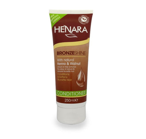 Henara Bronzeshine Brunette Conditioner 250ml - total hair and beauty