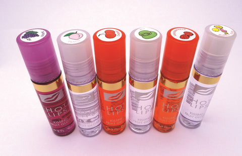 Fruit Flavoured Rollerball Lip Gloss