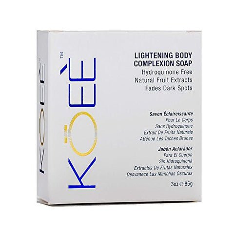 Koee Lightening Body Complexion Soap - total hair and beauty