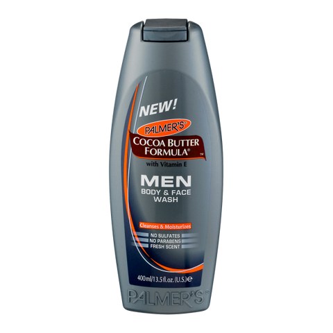Palmers Cocoa Butter Formula Men Body & Face Wash - total hair and beauty