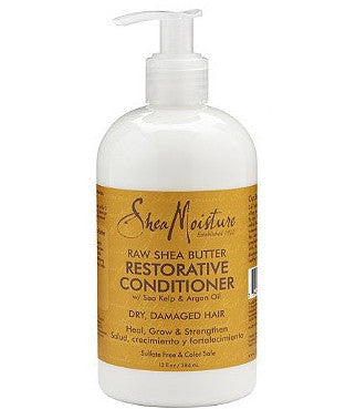 Shea Moisture Raw Shea Butter Restorative Conditioner - total hair and beauty