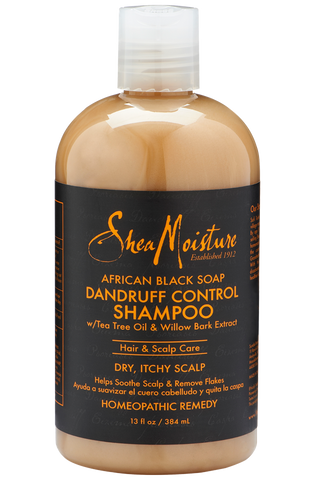 Shea Moisture African Black Soap Dandruff Control Shampoo - total hair and beauty