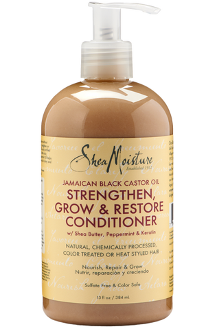 Shea Moisture Jamaican Black Castor Oil Strengthen, Grow & Restore Conditioner - total hair and beauty