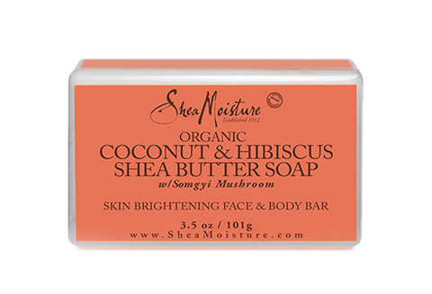 Shea Moisture Coconut & Hibiscus Face & Body Bar - total hair and beauty