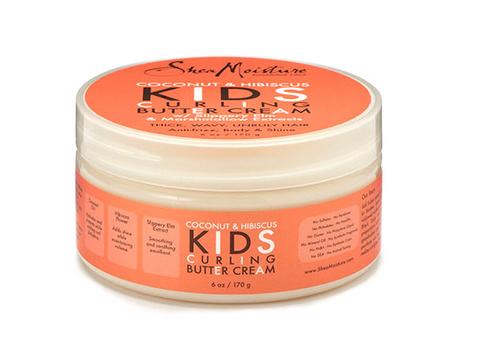 Shea Moisture Coconut & Hibiscus Kids Curling Butter Cream - total hair and beauty