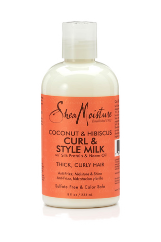 Shea Moisture Coconut & Hibiscus Curl & Style Milk - total hair and beauty