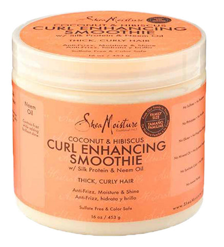 Shea Moisture Coconut & Hibiscus Curl Enhancing Smoothie - total hair and beauty