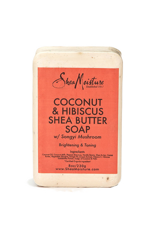 Shea Moisture Coconut & Hibiscus Shea Butter Soap - total hair and beauty