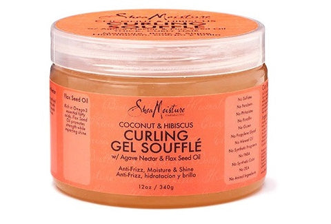 Shea Moisture Coconut & Hibiscus Curling Gel Soufflé - total hair and beauty