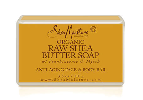 Shea Moisture Raw Shea Butter Facial Bar Soap - total hair and beauty