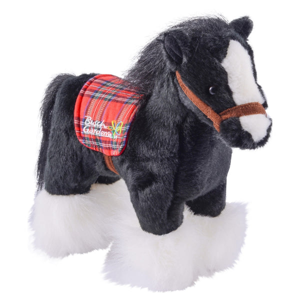 Clydesdale Plush 10""