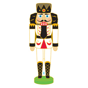 SeaWorld/Busch Gardens Nutcracker Prince White Pin