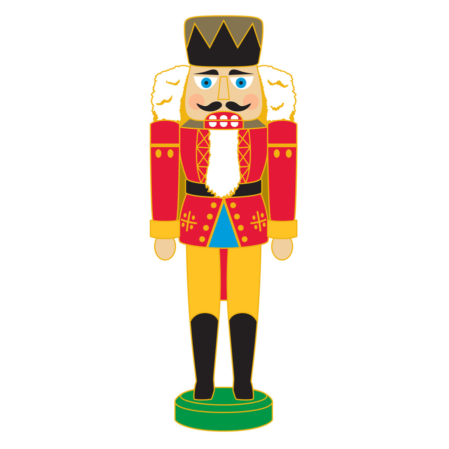 SeaWorld/Busch Gardens Nutcracker Prince Red Pin