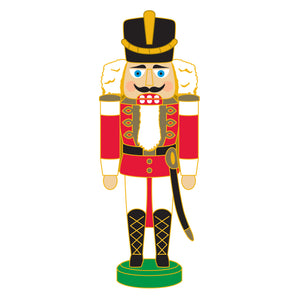 SeaWorld/Busch Gardens Nutcracker Soldier Red Pin