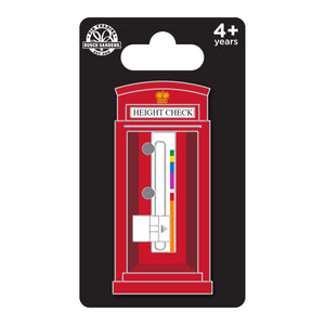 Busch Gardens Williamsburg Height Check Phonebooth Pin