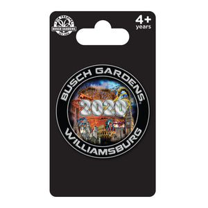 Busch Gardens Williamsburg Dated 2020 SE Pin