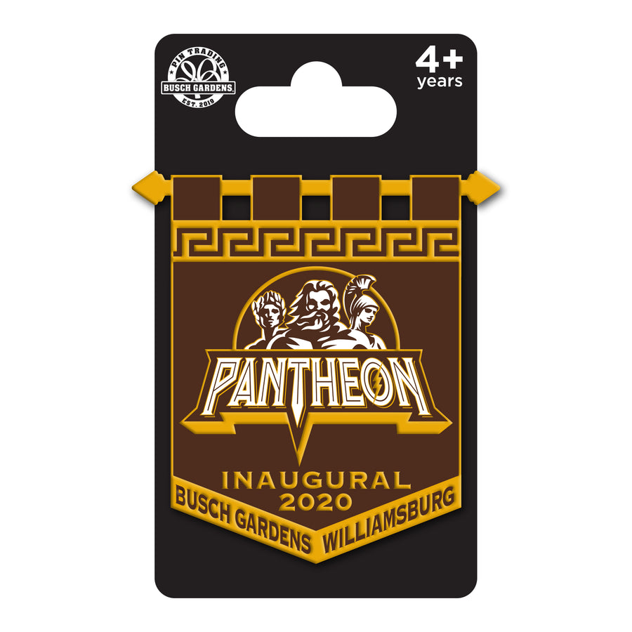 Busch Gardens Williamsburg Pantheon Inaugural SE Pin