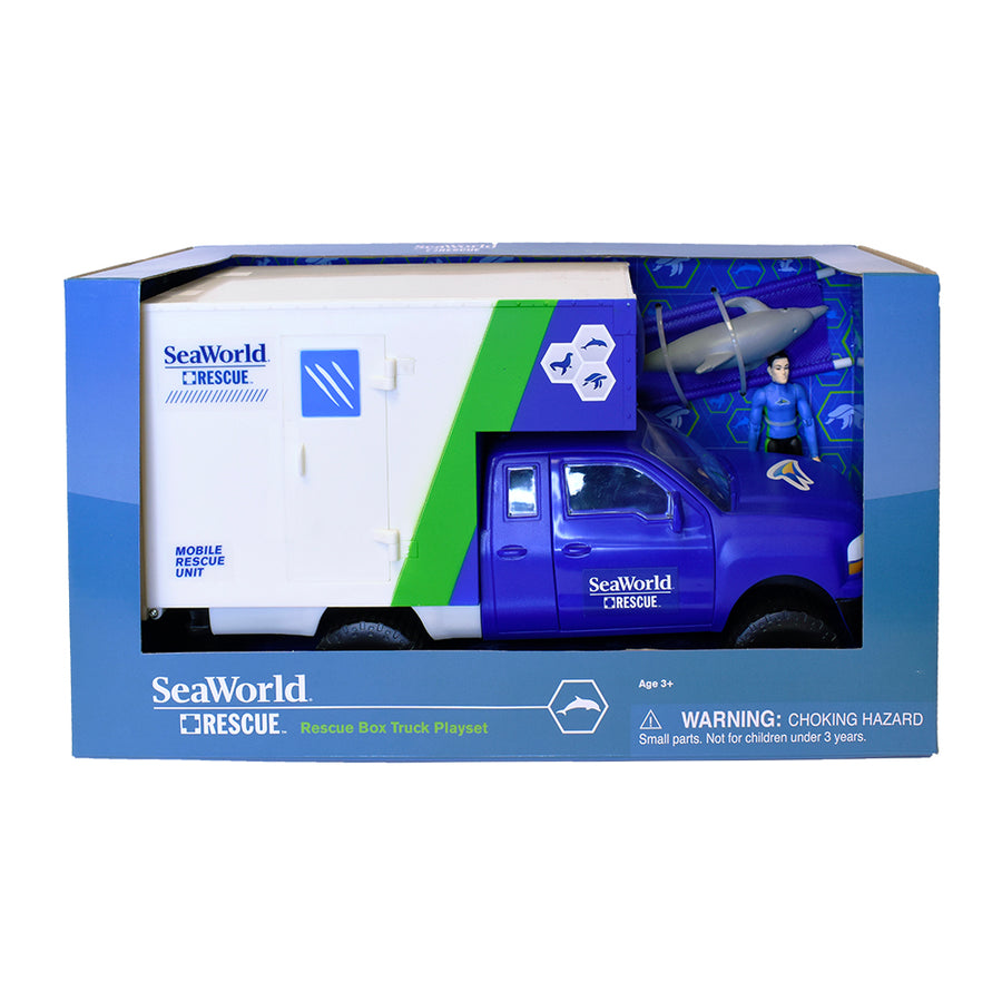 SeaWorld Rescue Box Truck Playset
