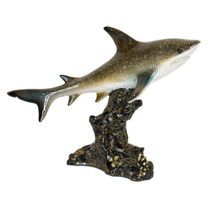 Resin Shark Figurine 8""