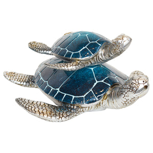 Resin Turtle Figurine 10""
